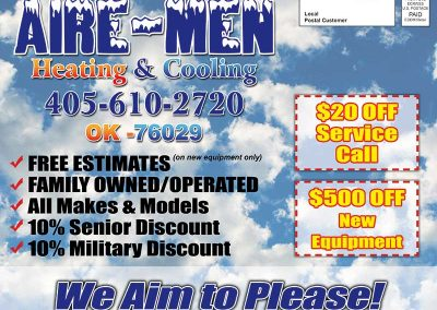 Direct Mail Flyer