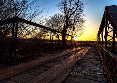 Iron Bridge in Caddo County