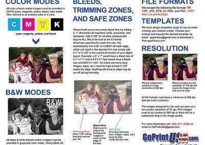 "8.5""x11"" Trifold Brochure"